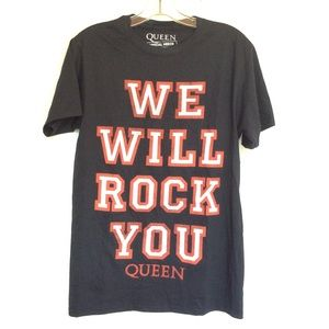 Queen We Will Rock You Band T Shirt